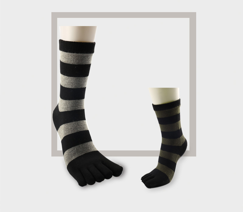 Absorb Simple Pattern Sweat Men Knit In The Tube Socks Cotton Tube Socks