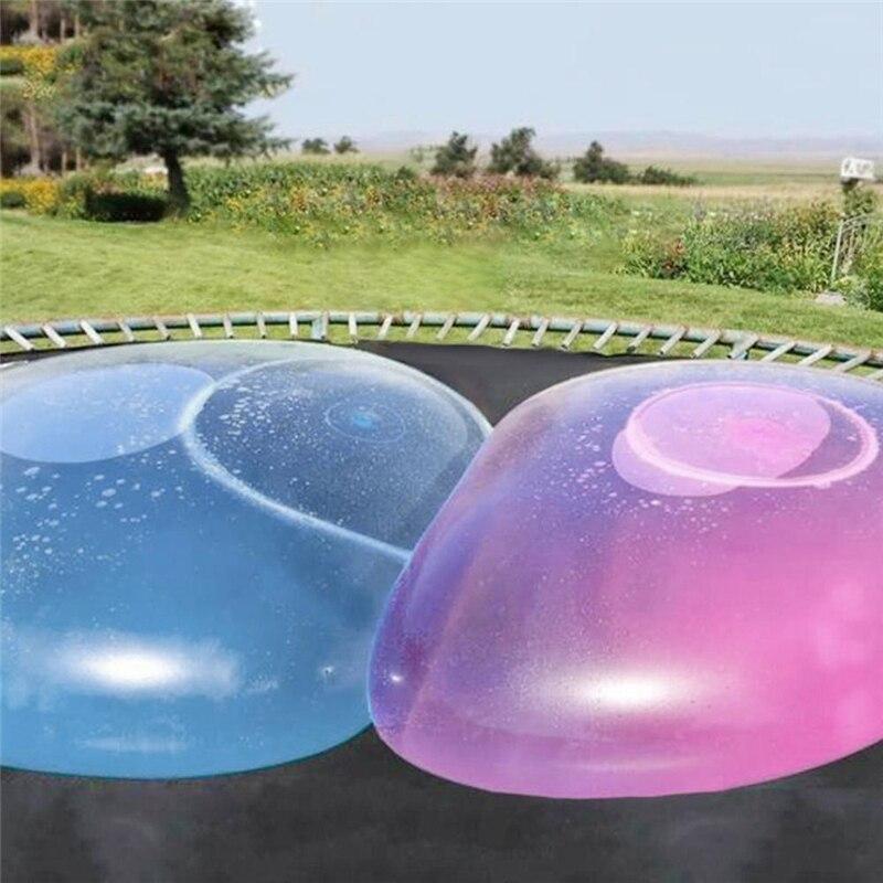 Комплект из 1 предмета; Уличная обувь; Мягкая воздуха водой в виде шара пузыря Магия гигантский воздушный шар игрушки Fun Вечерние игры летняя...