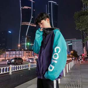 Coat Baseball-Uniform Jacket Wear Hooded Plus-Sized New-Products Teenager-Trend Autumn