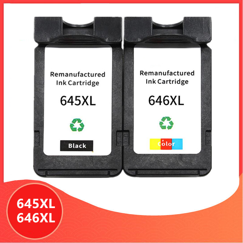 PG645 CL646 XL ink cartridge replacement for Canon PG-645 CL-646 PG 645 CL 646 Pixma MG2460 MG2560 MG2960 MG2965 image