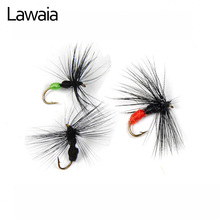 Lawaia Fishing Lures Bionic Ant Fly Fish Baits 3 Color Random 10# Bait Hooks Tying  Kit Gears