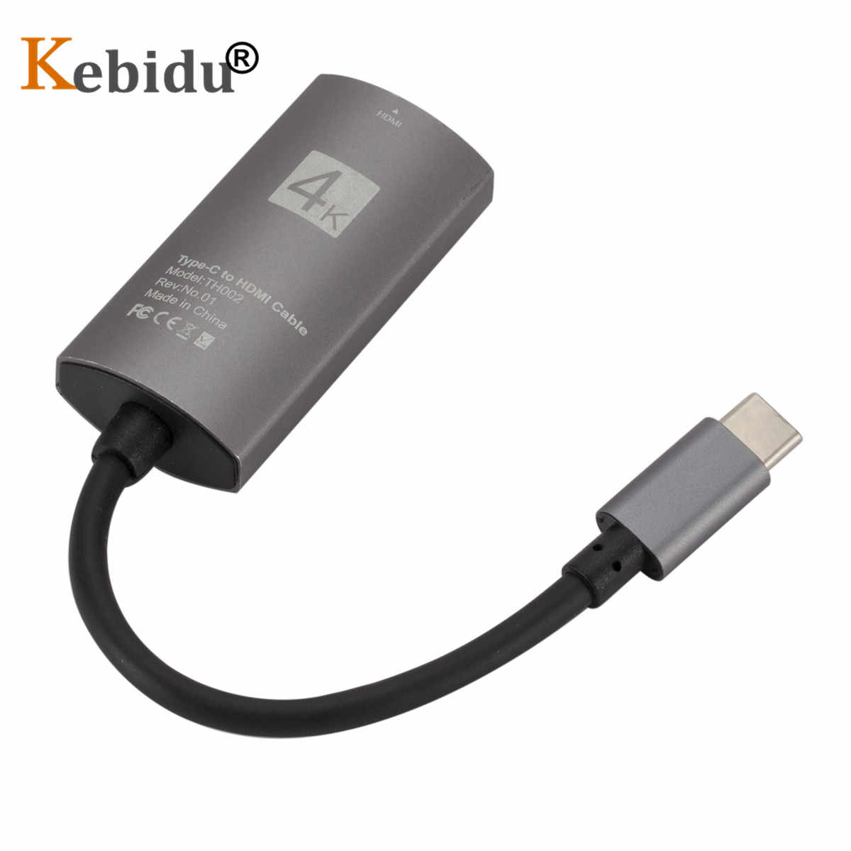 4K 60Hz HDMI TV Stick tipo C a HDMI convertidor HDTV pantalla TV Dongle receptor para Samsung S8 Macbook a TV proyector espejo
