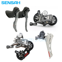 SENSAH Road bike 2x11 speed Rear Derailleur Groupset Shifter Lever Derailleurs KMC Chain Cassette 8/9S ST 2400 ST 3500 shifters