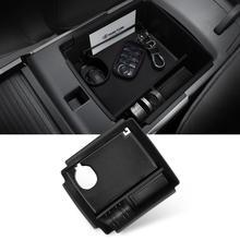 LFOTPP Armrest Storage Box For Niro EV 2019 2020 Electric Version Central Control Storage Box Auto Interior Accessories Black