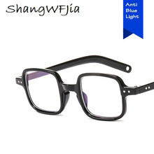 Anti Blue Small square Glasses Women Computer blue light blocking glasses Radiation Goggles Spectacles Eyeglasses Men