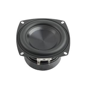 Image 2 - Tenghong 1pcs 4 Inch Subwoofer Speaker 4/8 Ohm 40W Bass Audio Speaker Unit HIFI Bookshelf Loudspeaker For Home Theater DIY