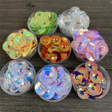 funnel shape sequins 6mm 8mm 10mm pvc sequins handcraft accessories decorate Clothes shoes hats Fashion sequins