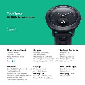 Image 5 - Zeblaze היברידי חכם שעון קצב לב צג לחץ דם מזג אוויר ספורט כושר Tracker הכפול מצבי Smartwatch גברים