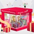 5D DIY diamond painting (surprise blind box random lucky box) mosaic artist home decoration handmade children's gift