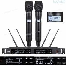 Цифровая беспроводная микрофонная система ur24d 300 каналов