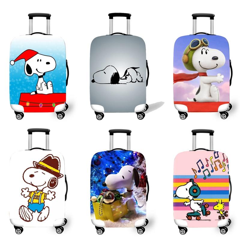 Protetora para Cases do Trole Acessórios de Viagem Bagagem Elástica Case Capa Mala Protetora Covers 3d Padrão Cão T2625