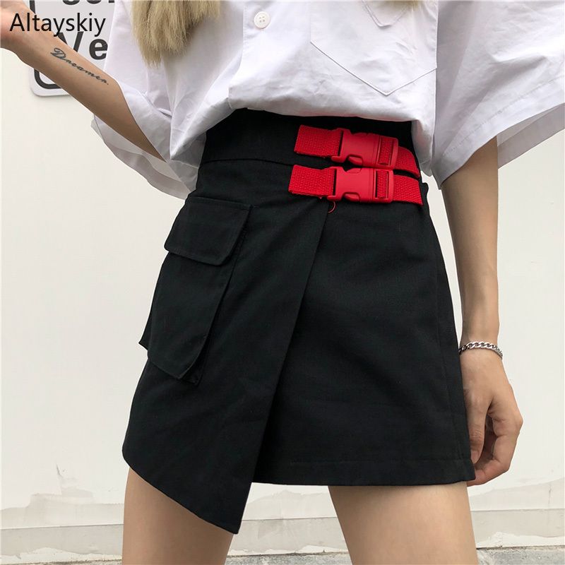 Shorts Women Harajuku Irregular Pocket Summer Chic Loose Street Womens Cargo Short Casual Trendy Korean Style New All-match Girl