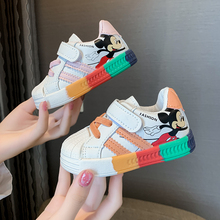 Children Shoes Sport Sneakers Spring Toddler Mickey Girls Breathable Boys Running Kids