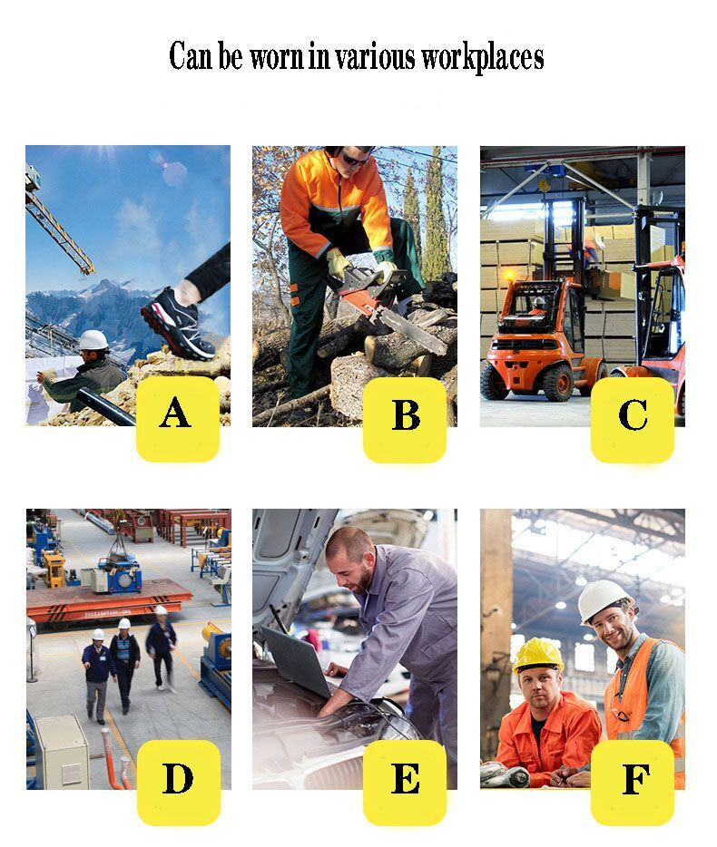 Botas de segurança e trabalho