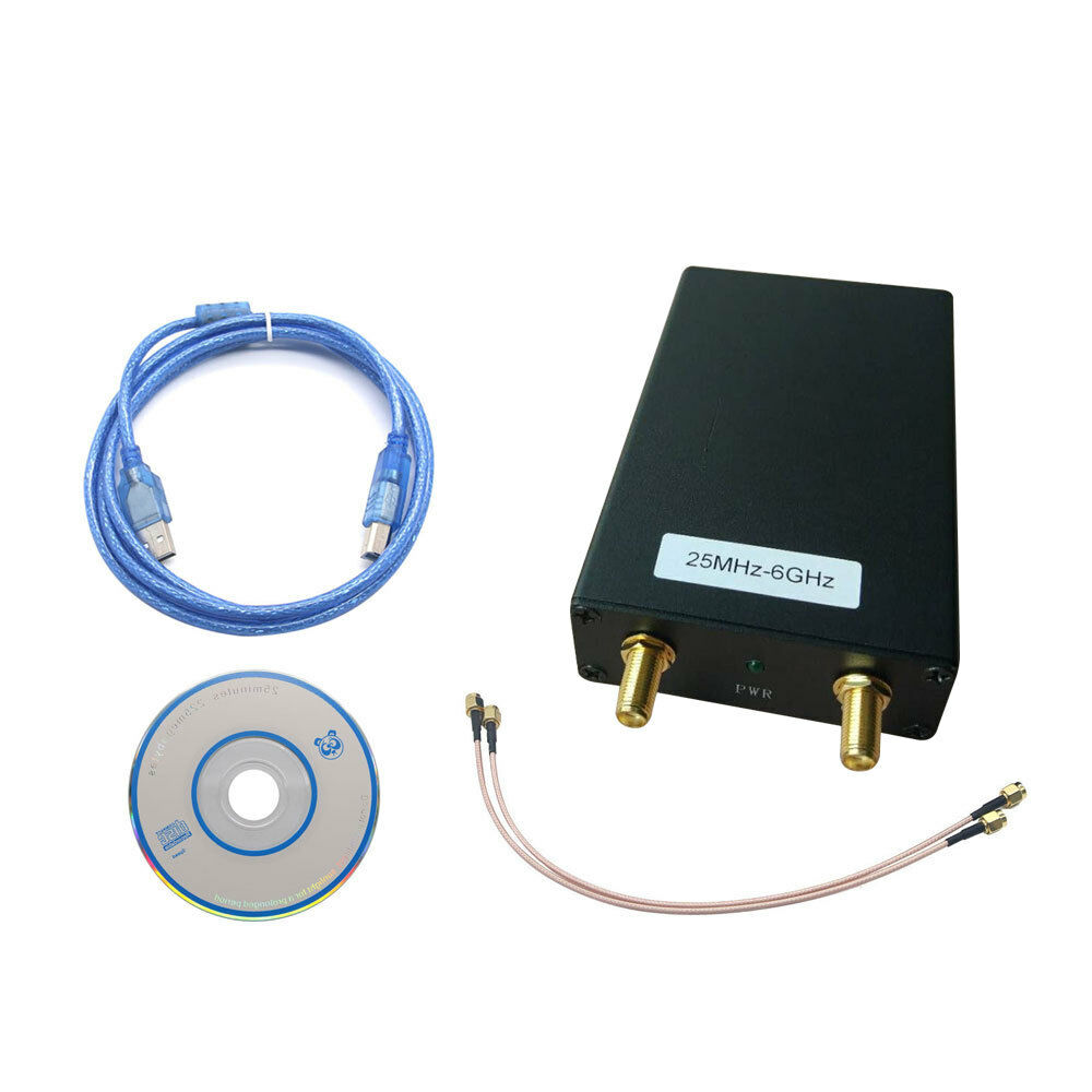 Free Shipping 25MHz-6GHz Signal Generator Signal Source Spectrum Analyzer Can Connect Tracking Generator MIN Step:1K/1K/5K