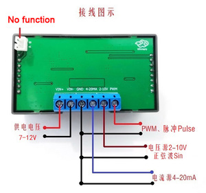 Image 2 - Digitale Display Pwm Pulse Verstelbare Module Signaal Bron Stroom 4 20mA, voltage 2 10V Signaal Generator Sinus 1 1000Hz