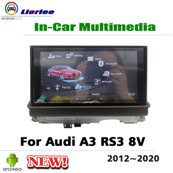 7 Inch Android Car Media Radio player For Audi A3 RS3 8V 2012~2020 4+64G IPS screen GPS Navigation Multimedia System image