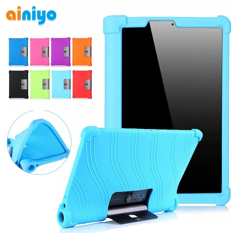 Мягкий чехол для Lenovo Yoga Tab5 YT-X705F 2019 умный чехол для планшета Lenovo Yoga Tab 5 yt-x705f силиконовый чехол + стилус