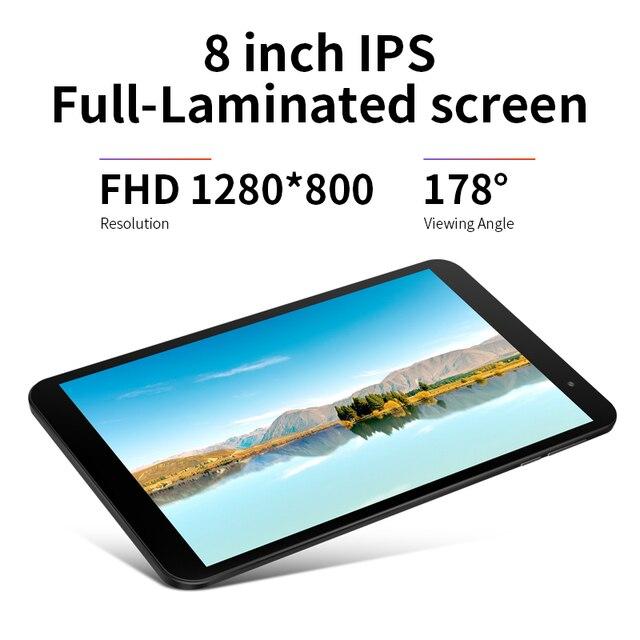 Teclast p80x 8 polegada tablet android 9.0 4g phablet sc9863a octa núcleo 1280*800 ips 2gb ram 32gb rom tablet pc câmeras duplas gps 4