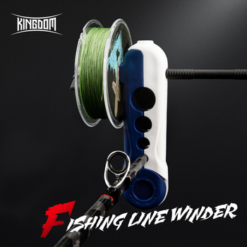 Kingdom Portable Fishing Line Winder Reel Spool Spooler Machine spinning & Baitcasting Reel spool Spooling Station System Fishin piscifun fishing line spooler portable spool line bobbin winder spooler spinning bait cast reel spool fishing reel line winder