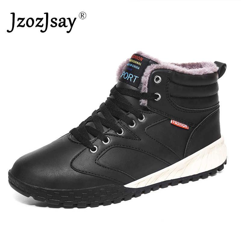 Neuvo Zapatos Botas Zapatillas Nieve invierno para hombre Tobillo Casual de Moda