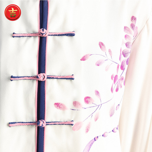 Image 5 - New Tai Chi Chinese Dress Set for Women Kung Fu Chinese Traditional Clothings Clothes for Women Hand painted Plum Wushu Uniform