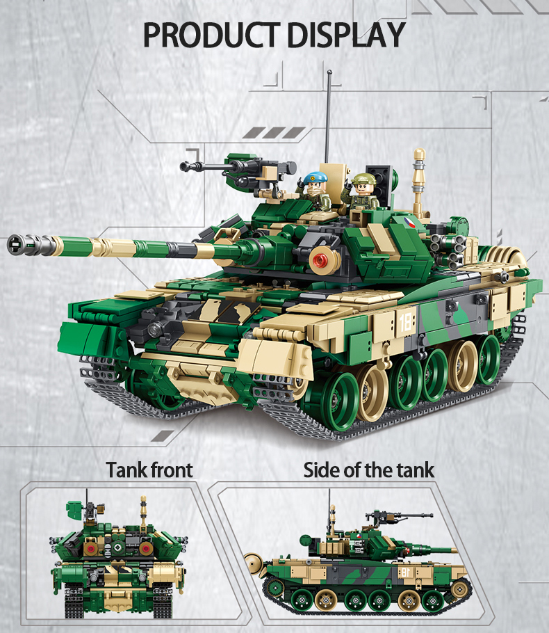 PANLOS 632005 Russian T-90 Main Battle Tanks