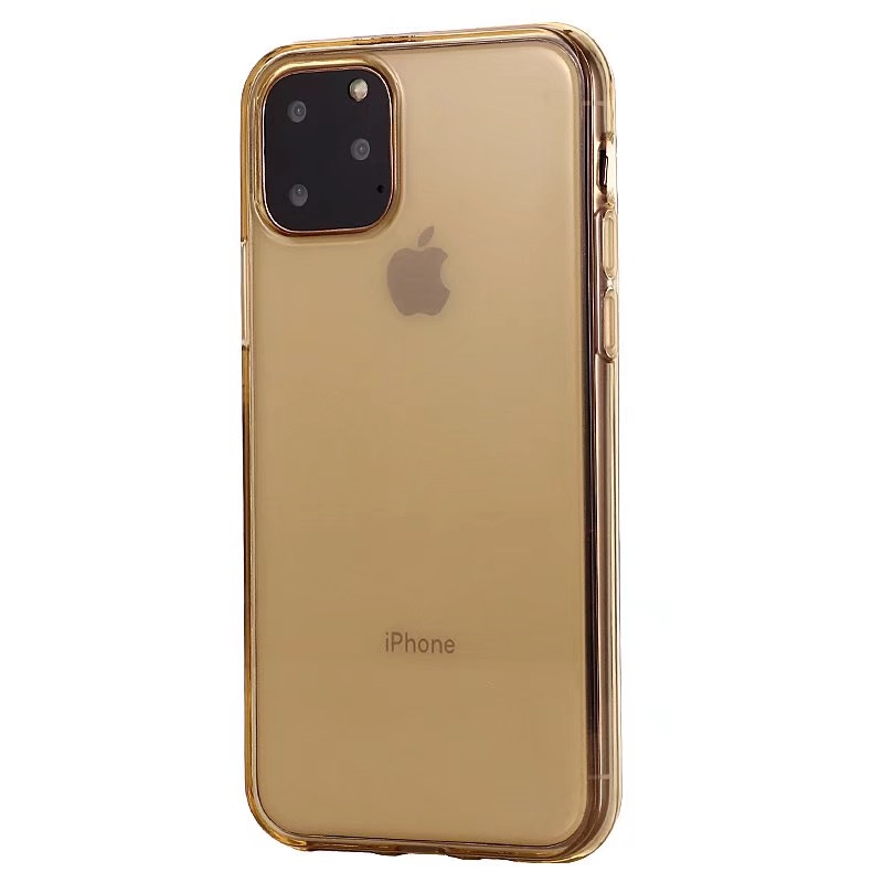 Comanke Transparent Candy Color Silicone Cases for iPhone 11/11 Pro/11 Pro Max 37