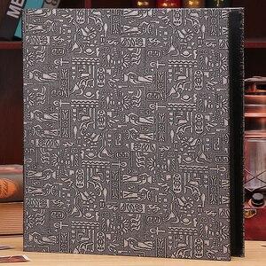 Image 5 - 6 inç 800 plastik cepler fotoğraf albümü aile eklemek büyük kapasiteli deri kılıf galeri aile bellek kayıt karalama defteri albümü