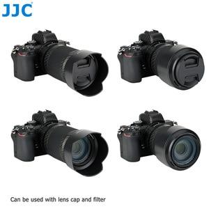 Image 3 - JJC 花びらスタイルバヨネットレンズフードニコンニッコール Z DX 50 〜 250 ミリメートル f/4.5 6.3 VR レンズニコン Z50 置き換え HB 90A レンズ