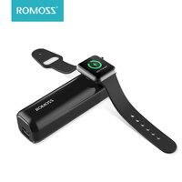 Romoss iroll 3250 mah carregador sem fio para apple watch porta dupla 2a saída portátil power bank para iphone x/8 plus/8/7 plus/7/6 p|Baterias Externas| |  -