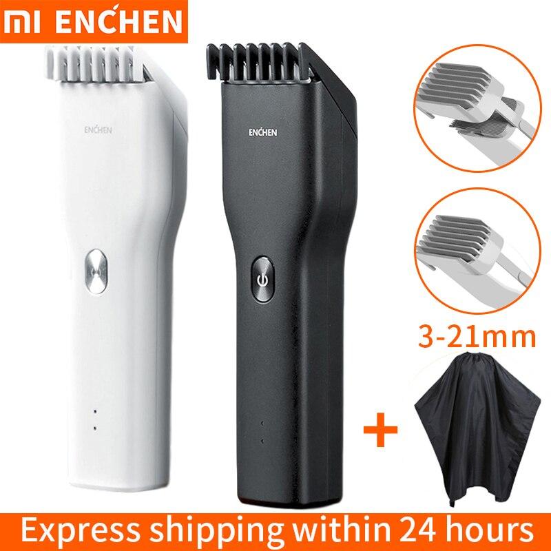 Xiaomi профессиональная машинка для стрижки волос триммер для мужчин электробритва для мужчин косилка для стрижки волос домашняя стрижка маш...