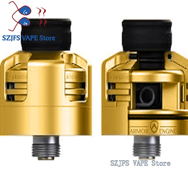 Apocalypse GEN 2 RDA Atomizer RDA  22mm Rebuilding Dripping Tank With Squonk BF PIN For 510 Electronic Cigarette BOX Mod Profil
