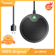 MAONO BM10 USB Conference Boundaryไมโครโฟนคอนเดนเซอร์ไมโครโฟนPlug & Play PC MicสำหรับเกมYoutube Metting