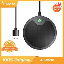 MAONO BM10 USB konferencja granica mikrofon wielokierunkowy pojemnościowy mikrofon Plug & Play PC Mic do gier Youtube Metting