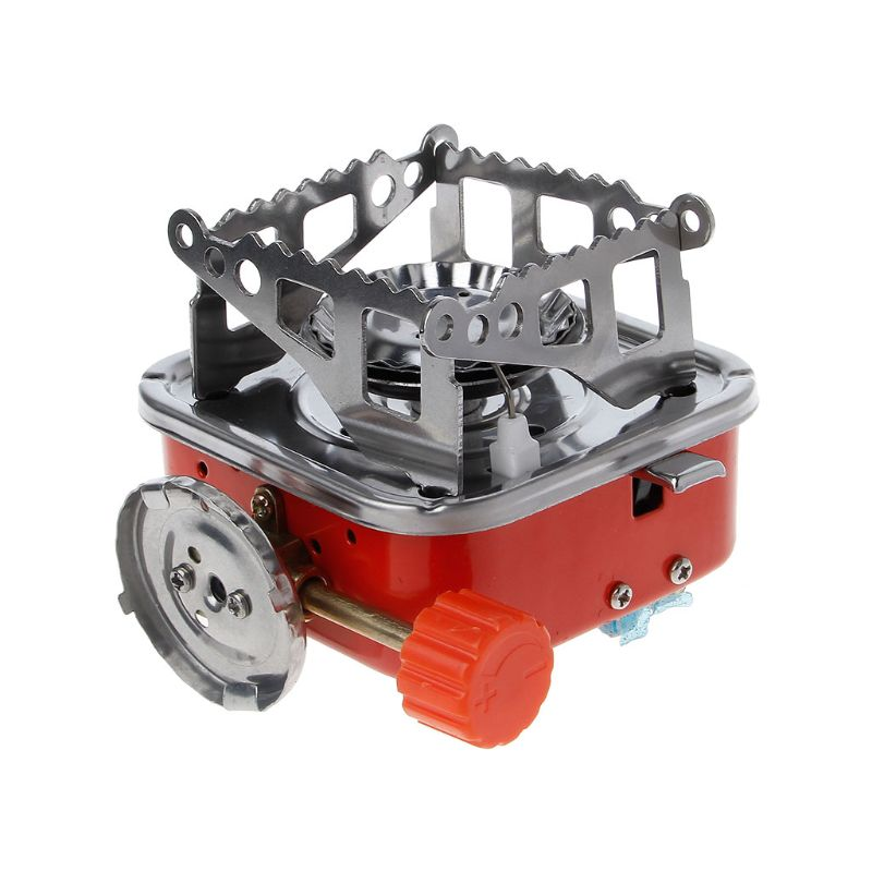 New Mini Camping Stove Folding Outdoor Gas Stove Portable Picnic Split Cooker Burner