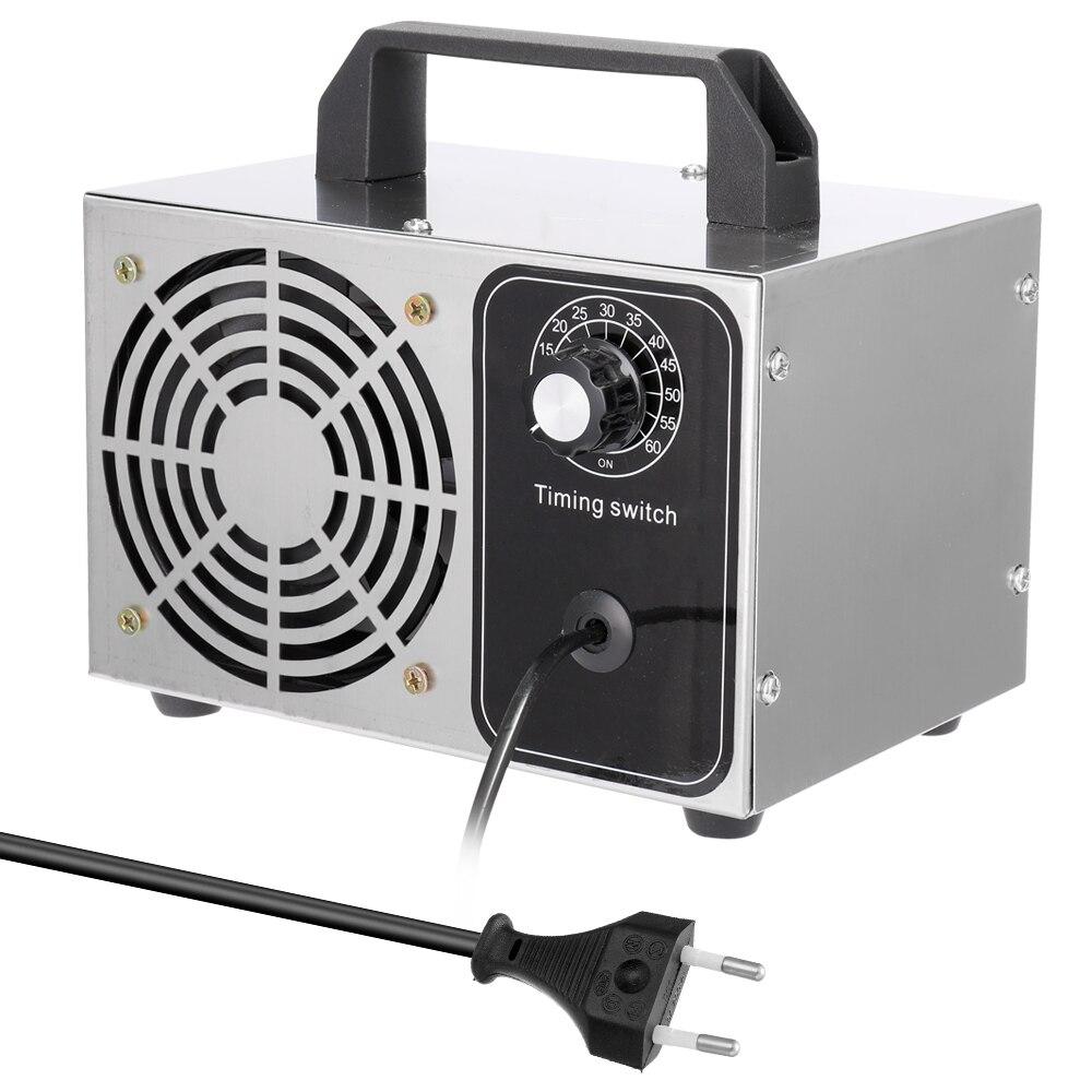220V/ 110V 24g/h Ozone O3 Generator Ozonator Machine Air Purifier Deodorizer Sanitizer Car Formaldehyde Sterilization Air Filter