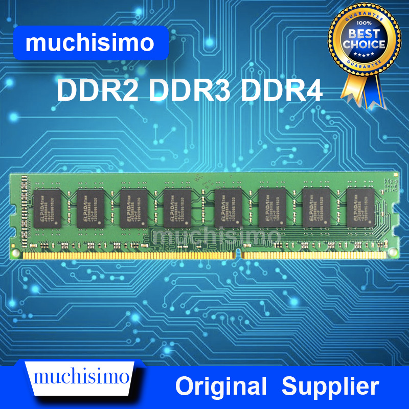 Memory RAM DDR3 DDR4 DDR2 4GB 8GB 2GB 1066 1333 1600 2133MHz PC Computer Desktop Memoria Module 240pin New DIMM Fully Compatible