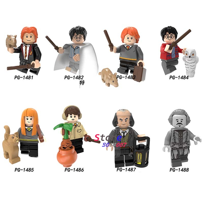 Single Building Blocks Harry Ron Susan Neville Longbottom Argus Filch Collection Toys For Children Harry