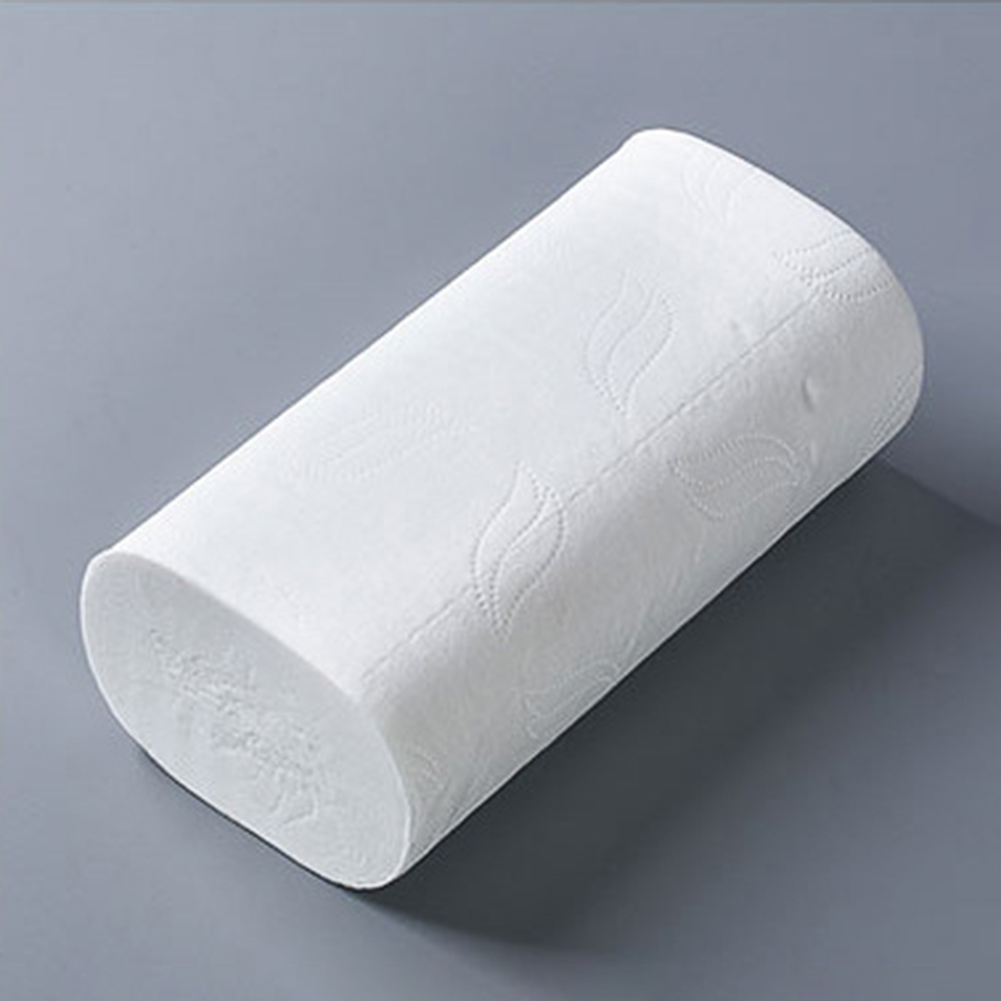 10 Rolls/Set Cleaning Supplies Toilet Paper 4 Layers Wood Pulp Daily Holder Tissue Toilet Roll Dispenser For Bathroom WC Paper