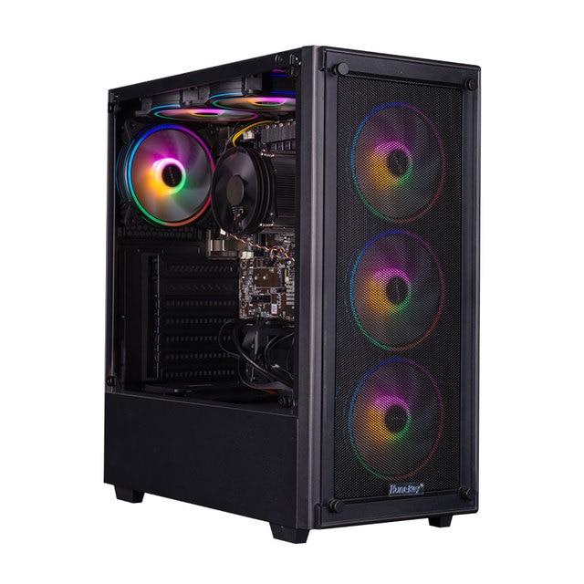 IPASON Gaming Desktop Intel I7 6400T es QHQG ES Engineering version  2.2GHz 16G RAM 256G SSD High Performance Diy Gaming Desktop 2