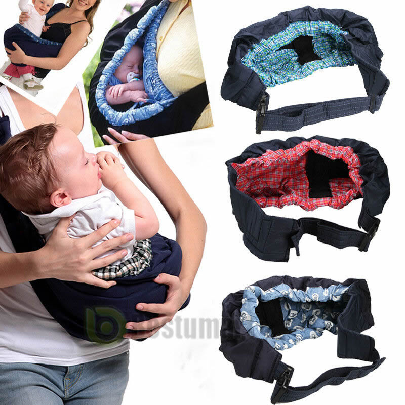 Infant Newborn Baby Carrier Sling Wrap Cute Stylish Swaddling Strap Sleeping Bag Inclined Cross Feeding Baby Hammock