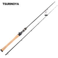TSURINOYA Fishing Rod PROFLEX 1.91mUL Fast Casting Fishing Rod Fuji A Guide Rings Accessories Bass