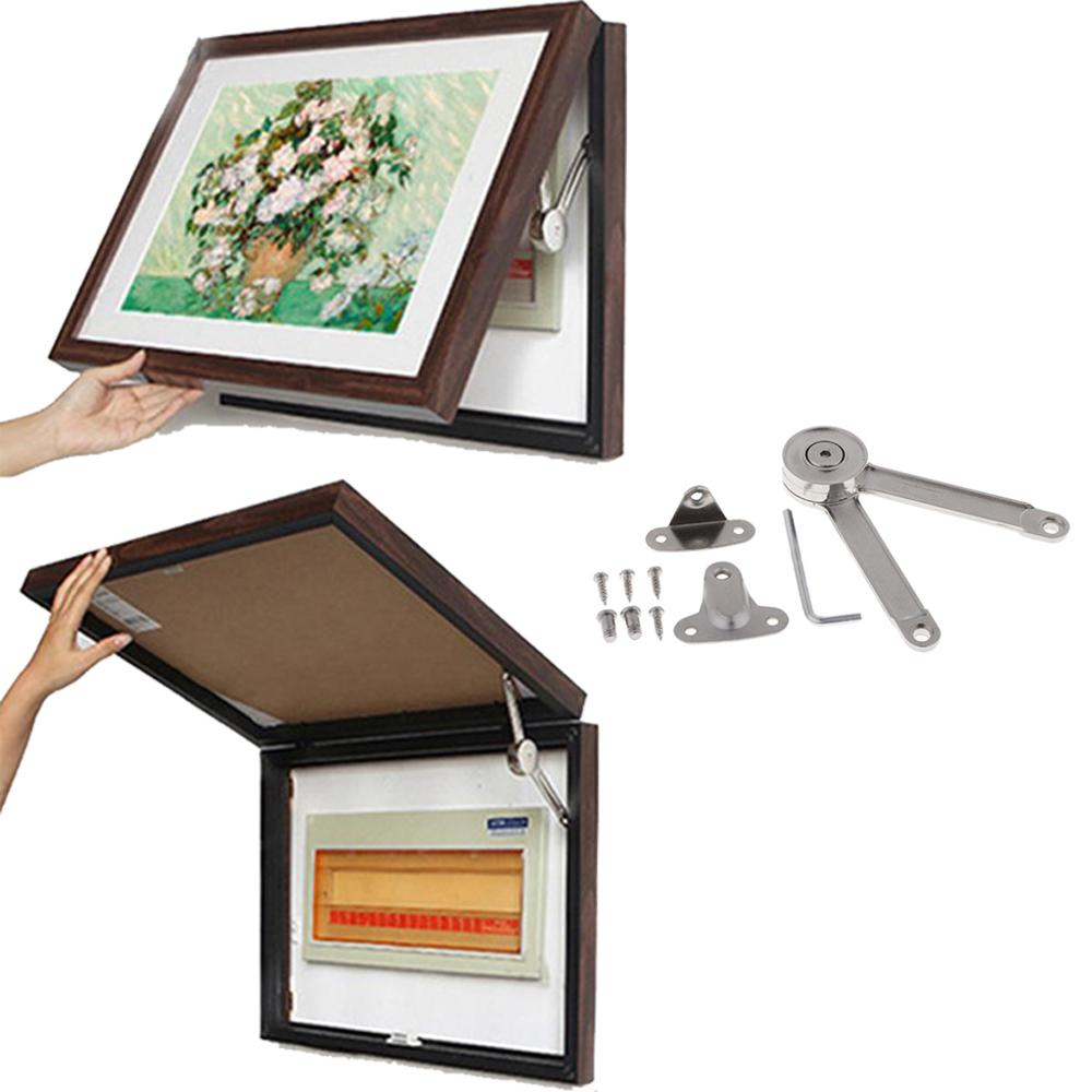 Heavy Duty Lift Up Strut Lid Flap Stay Support Hinge For  Meter Box Decorative Picture Photo Mirrors Frames