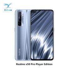 Realme X50 Pro Player edition 5G telefon komórkowy NFC Snapdragon 865 65W SuperDart 4200Mah 6.44 cala 90Hz kolacja AMOLED telefony komórkowe