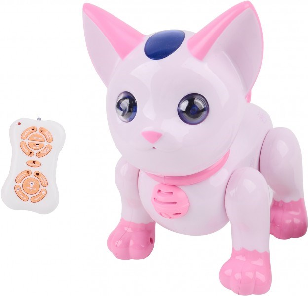 RC Robot Interactive Cat Pink-2059-R