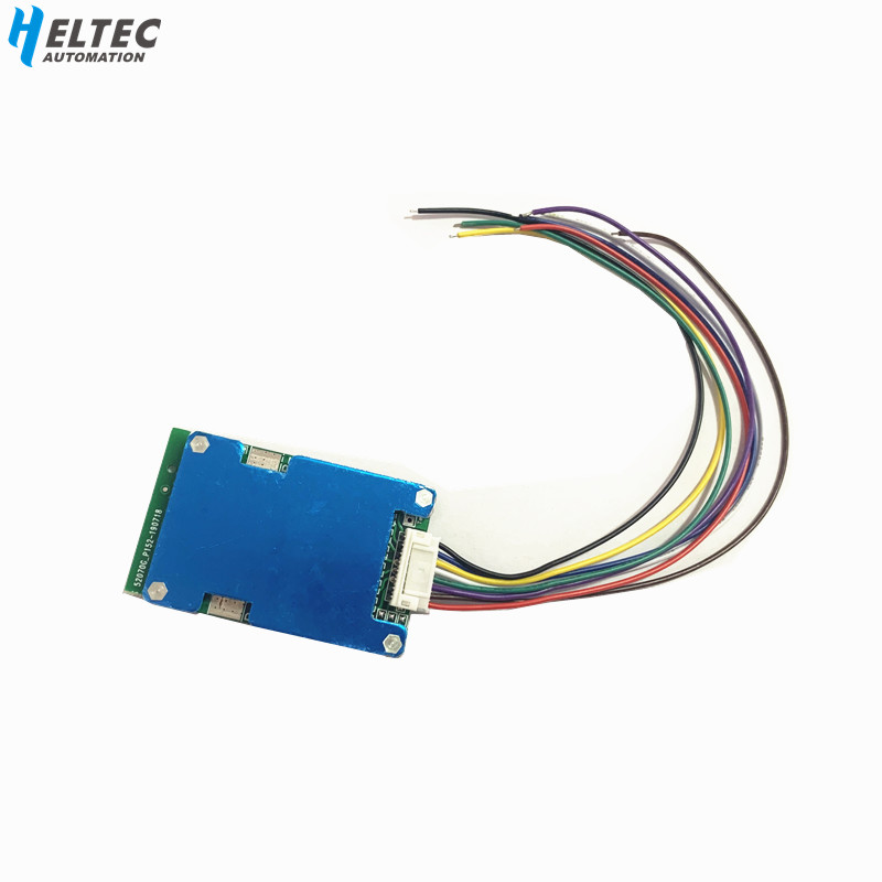 BMS 3S 4S 5S 6S 7S 20A 12.6V Lithium Battery Protection Board 16.8V 21V Balanced 25.2V 29.4V 18650 Protection Board Heat Sink