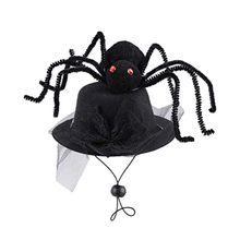Хэллоуин кошка собака забавная шапка для косплея головной убор паук пиратская шляпа повязки на голову необычный головной убор костюм фото реквизит-Аксессуары