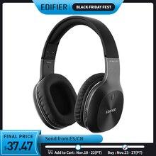 EDIFIER W800BT 무선 헤드폰 Bluetooth 4.0 및 유선 기능 최대 35 시간 사용 배터리 40mm 드라이버 Bluetooth 이어폰