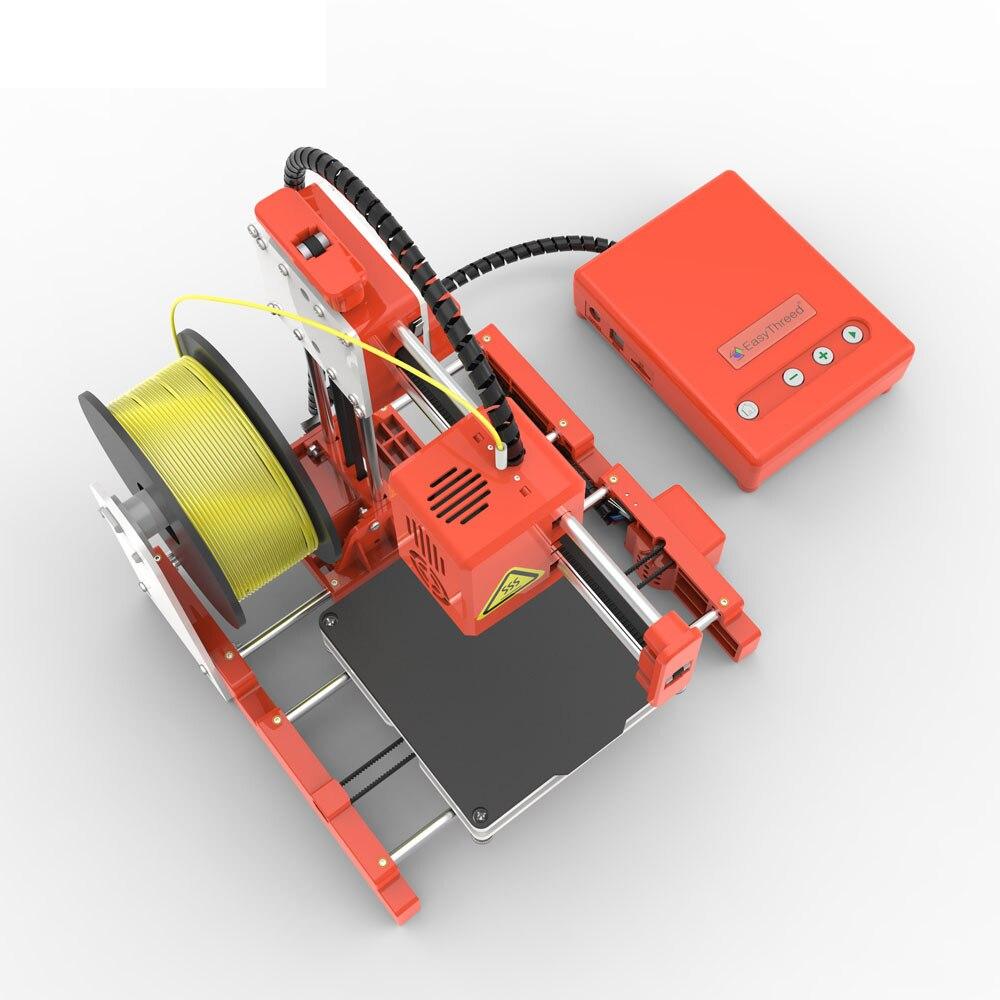 Mini Portable  Kids 3D DIY Printer for Household Education 35